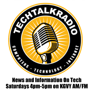 TechtalkRadio Logo - Radio Show Saturdays 4pm to 5pm