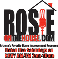 Rosie on the House on KGVY AM and FM