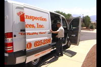 Photo of Bills Home Inspection Services Vehicle, Serving Green Valley and Sahuarita