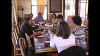 Photo of Diners at Marias Grill in Tubac Arizona