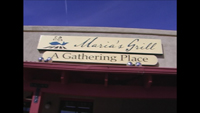 Photo of the Sign at Marias Grill in Tubac Arizona